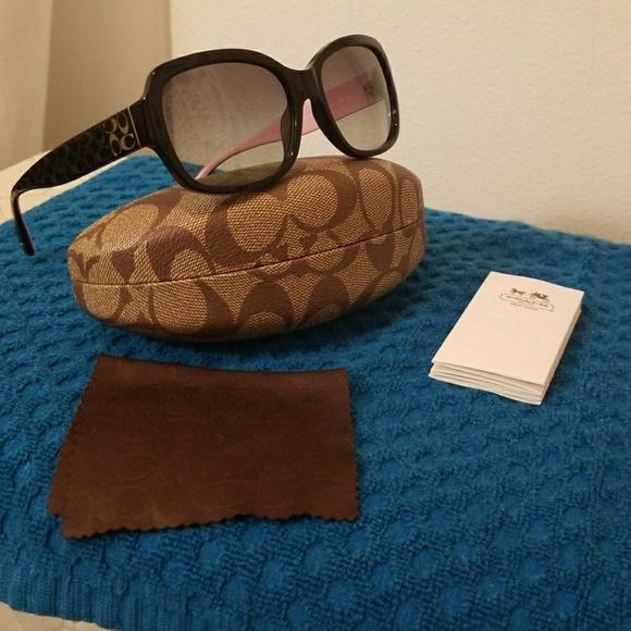 beeda3af8c Coach Accessories - Coach Emma Sunglasses HC 8001 new with case
